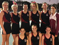 Winners of Division 1 Netball Finals